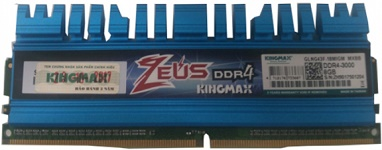 KingMax Zeus 8GB DDR4-3000 Heatsink