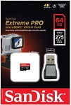 SanDisk Extreme PRO microSDXC UHS-II Card 64GB (SDSQXCG-064G-GN6MA)