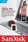 Sandisk Ultra Fit USB 3.1 Flash Drive 16GB  (SDCZ430-016G-G46)