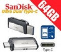 SanDisk Ultra® Dual Drive USB Type-C 64GB