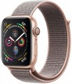 Apple Series 4 GPS, 40mm Gold Aluminium Case with Pink Sand Sport Band, MU692VN/A