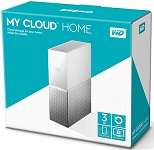 WD My Cloud Home 3TB (Personal Cloud Storage) (WDBVXC0030HWT-SESN)