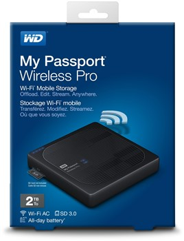 WD My Passport Wireless Pro 2TB (WDBVPL0020BBK)