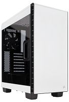 Corsair Carbide Series™ Clear 400C Compact Mid-Tower Case — White  (CC-9011095-WW)