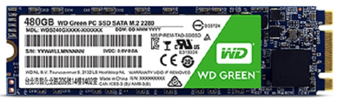 WD Green PC SSD M.2 480GB (WDS480G2G0B)