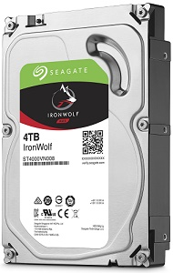 Seagate IronWolf HDD 4TB (ST4000VN008)