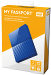 WD My Passport 1TB (Blue) (WDBYNN0010BBL)